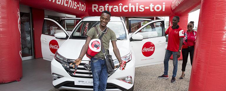 Un premier grand gagnant pour le Concours Capsule Coca-Cola