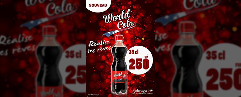 World Cola arrive au Gabon !