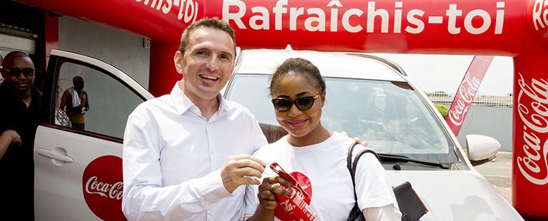 Une deuxième grande gagnante pour le concours capsules Coca-Cola