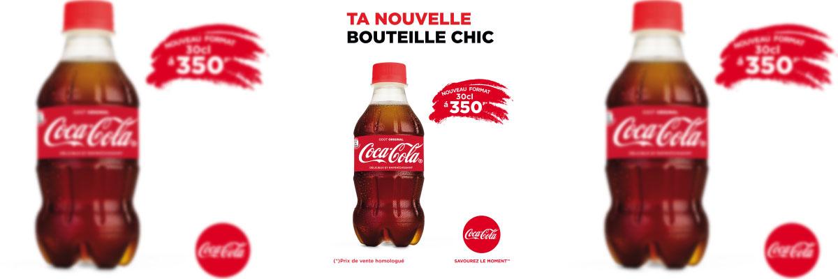 Bouteille chic Coca Cola