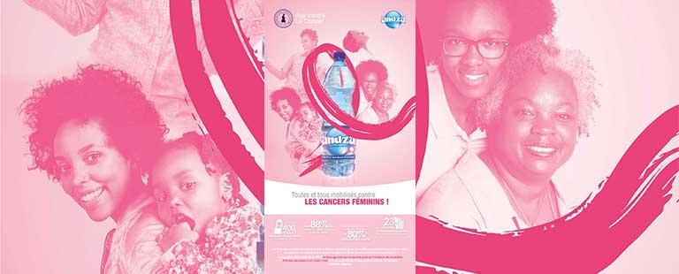 ANDZA S'ENGAGE POUR LA LUTTE CONTRE LES CANCERS FEMININS !