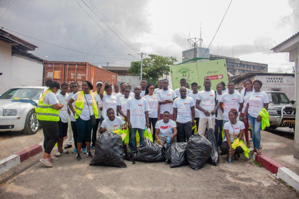 Plus de 350 kgs de déchets plastique ont été collectés tout au long de cette journée de sensibilisation