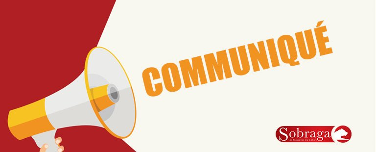 COMMUNIQUE SOBRAGA : COVID-19, LE RISQUE INDUSTRIEL N'EXISTE PAS