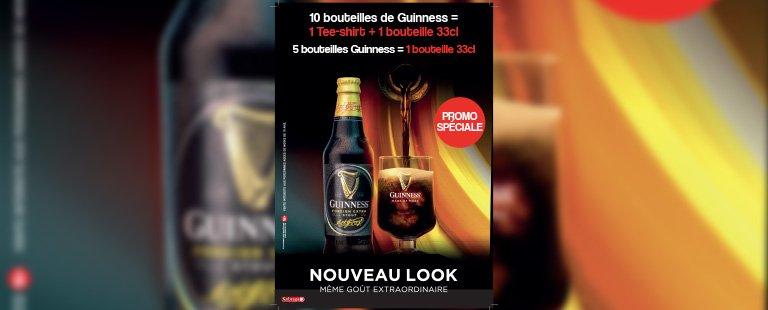 Guinness présente ses nouveaux atours
