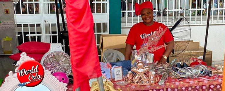 World Cola accompagne la grande Braderie de Libreville