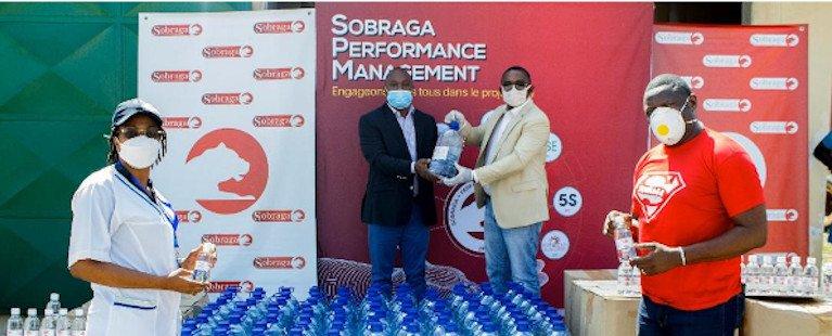 La Sobraga accentue son soutien à la riposte nationale au Covid19