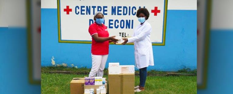 Nouvelle dotation Soboleco au Centre Médical de Santé de Léconi