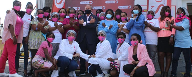 Cancers féminins : L'engagement de la Sobraga