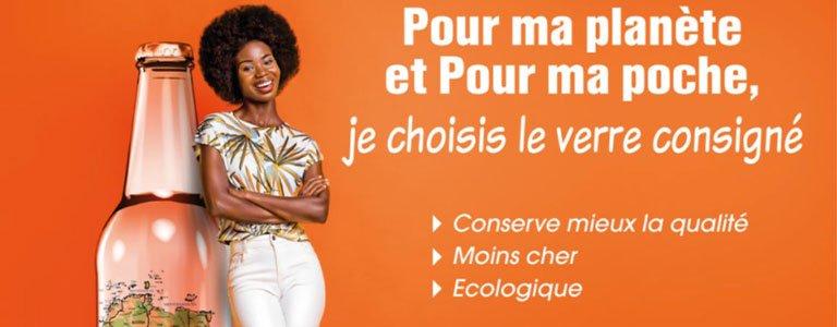 Le verre consigné c'est économique et écologique !
